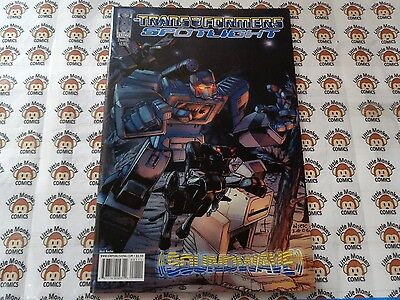 Transformers Spotlight Soundwave (2007) IDW - #1, REG CVR, Decepticon, VF