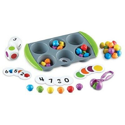 MINI MUFFIN MATCH UP - caked themed maths activity sorting set / game resource