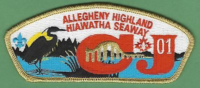 Allegheny Highlands Council 382 2001 Canadian Jamboree Boy Scout Csp Patch S28