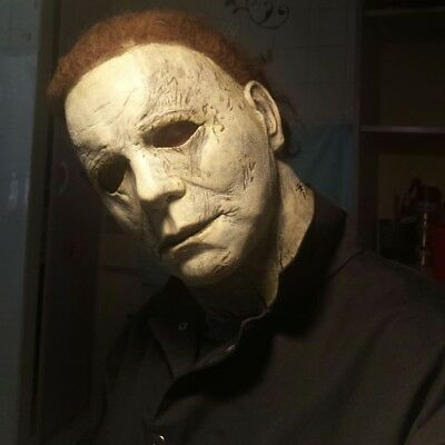 2018  ToTS MICHAEL MYERS MASK REPAINTED