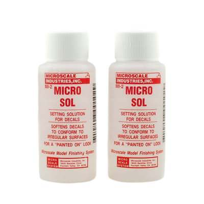 MicroScale Industries Micro Sol Decals Solution - Pack of 2