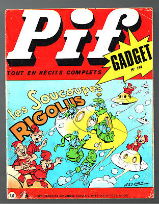 -°- PIF GADGET n°144 -°- 11/1971 -°- TEDDY TED / DOC JUSTICE