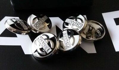 Chanel 6 Metal Cc Logo Front Buttons  18 Mm