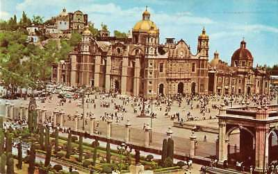 Mexico City Mexico Shrine of Guadalupe Vintage Postcard A926184