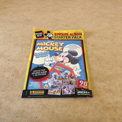 Panini Disney Mickey Mouse Sticker Story Starter Pack Includes Album 26 Stickers