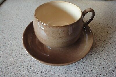 Denby 'Cinnamon' cup and saucer