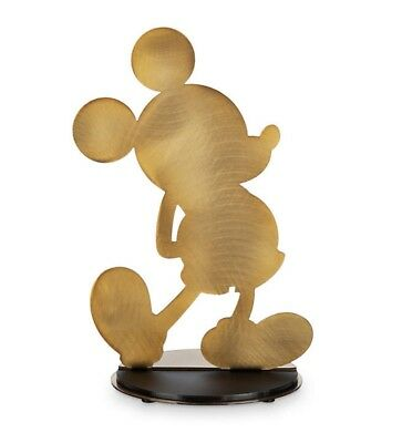 Mickey Mouse Gold Collection Metal Sculpture IN HAND!! LE 2260