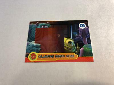 Disney MONSTERS INC Cards #26 - Cramping Mike's Style SULLEY MIKE CELIA