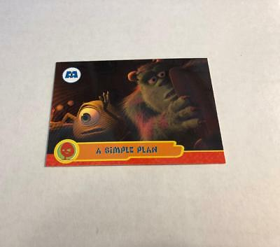 Disney MONSTERS INC Cards #29 - A Simple Plan SULLEY MIKE