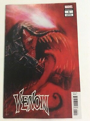 Venom Annual 1 2018 Bill Sienkiewicz Variant Nm