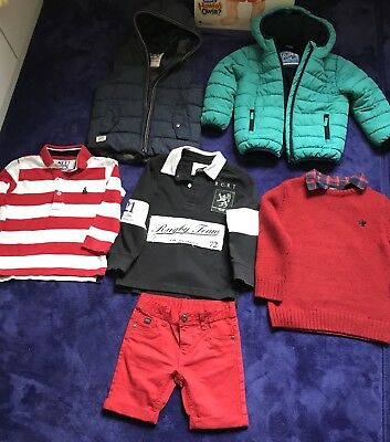 Lot de vetements garcon 3-4 ans NEUF,  Next, Zara