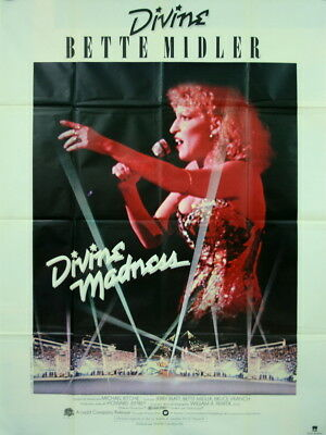 Bette Midler DIVINE MADNESS Michael Ritchie 1979 120x160