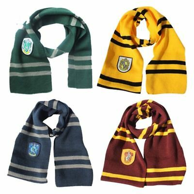 Harry Potter Vouge Gryffindor House Cosplay Knit Wool Costume Scarf Wrap Gift