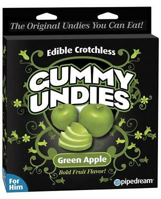 Edible Male Gummy Undies - Apple