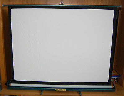 """Vintage Luxor """"Popular"""" Projection Screen by Johnsons of Hendon"""