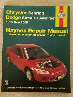01 02 chrysler dodge sebring stratus service repair manual