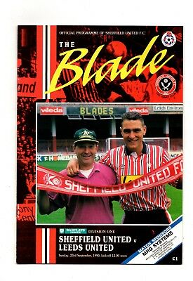 1990-1991  Sheffield United v Leeds United