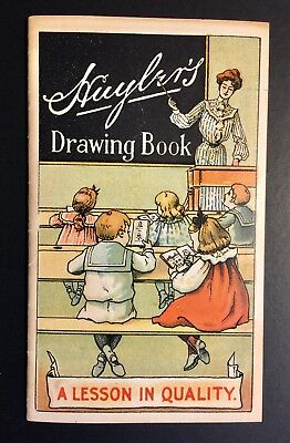 Huyler's Cocoa and Chocolate Advertising Drawing Book