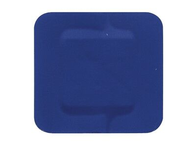 3.8cm x 3.8cm HYPAPLAST BLUE DETECTABLE PLASTERS - PACK OF 50 or 100 - CATERING