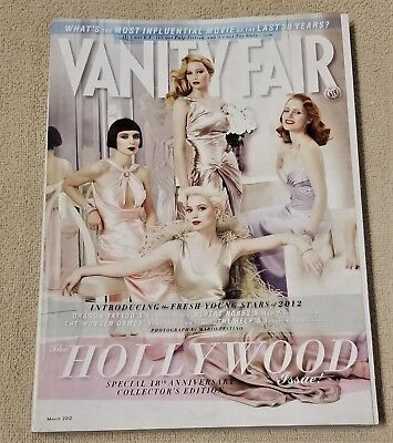VANITY FAIR Magazine March 2012 Hollywood Edition 18th Edition No Label #619