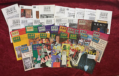 Wittus Wtt's A – B – C of Magic Set Periodical Issues – Great Material!