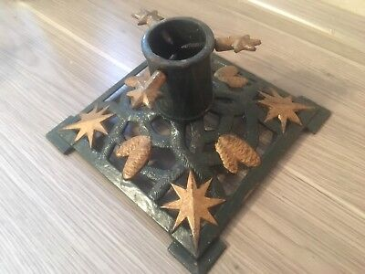 Antique Cast Iron Christmas Tree Stand - Beautiful And Great Condition!