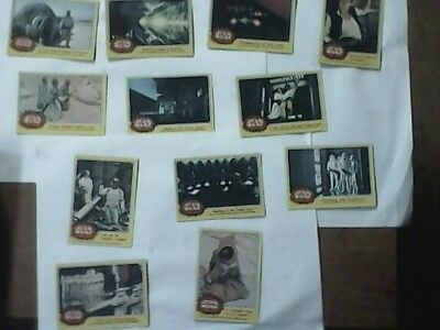1977 topps star wars series 1 set 4 trading cards