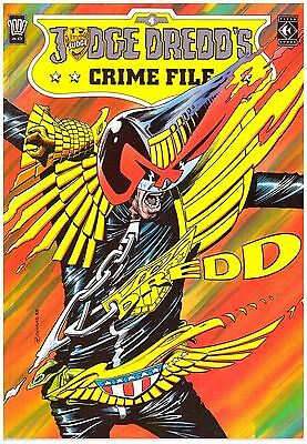Judge Dredd's Crime File #4 VF (8.0) 1989