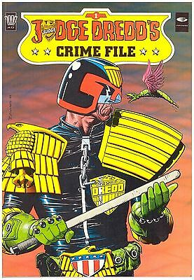 Judge Dredd's Crime File #1 VF (8.0) 1989