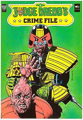 Judge Dredd's Crime File #3 VF (8.0) 1989