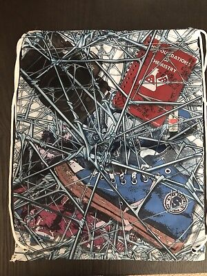 Marvel Gear And Goods Loot Crate Exclusive Spiderman Web Drawstring Bag