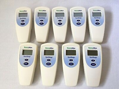 Welch Allyn SureTemp 678 Digital Thermometer LOT OF 9 UNITS ALL TESTED & WORKING