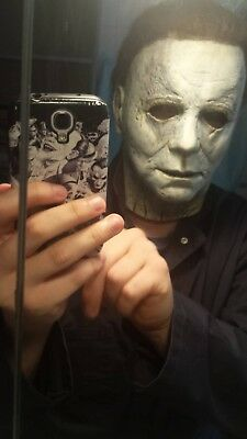 ToTs Halloween 2018 MICHAEL MYERS MASK REPAINT SERVICE *mask not included*