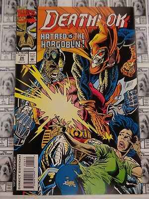 Deathlok (1991) Marvel - #26, The Detriment of Heroics, Wright/Kobasic, FN/VF