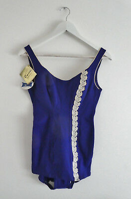 Vintage Ladies One Piece Swimsuit By Caprice Foundations Sydney Unworn Size 38