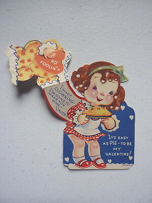 """VNTG """"I'm Not Clowning- I'm Going To Make You Mine"""" Foldable Valentines Day Card"""