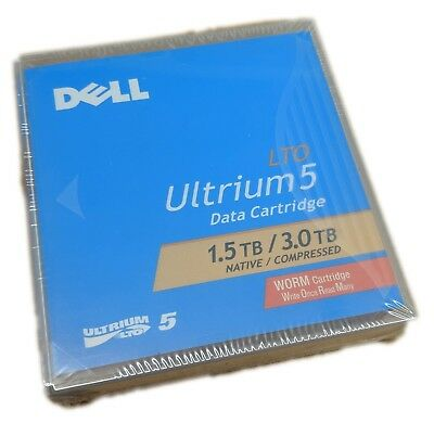 Brand New Dell Ultrium Lto5 1.5Tb/3Tb Worm Data Cartridge
