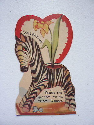 """VNTG """"Valentine You're The Nicest Thing That Grows"""" Valentines Day Card"""