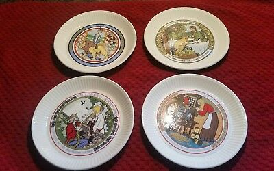 Wedgewood Childrens Story Plates Made in England
