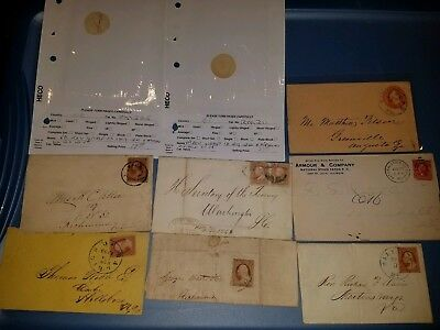 115 to 200 Year Old+ U.S. Stamp Lot