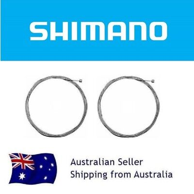 (PAIR) SHIMANO Stainless Gear Inner Cable Wire 1.2mm x 2300 for Shimano Sram