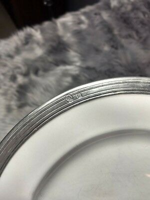 """Four 8.5"""" Salad Plates By The Arte Italica Tuscan Collection"""