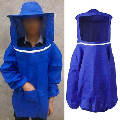Beekeeping Jacket Equipment Beekeeper Suit Veil Bee Hat & Scarf Sleeve Clothing