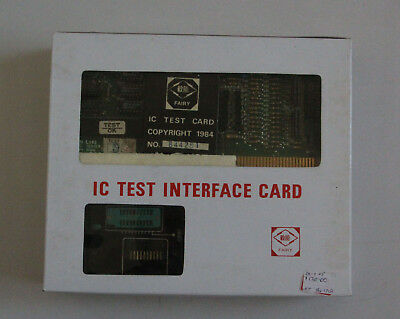 Classic and Rare Apple IC Test Card