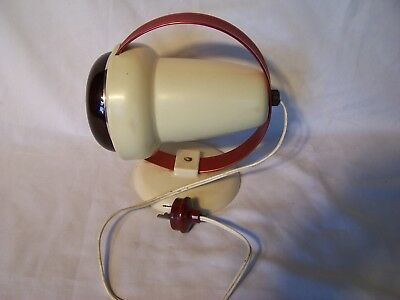 Vintage Electric Heat Lamp Philips Infraphil Bakelite  Infrared Light Health