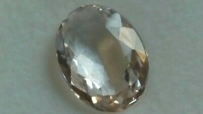 MORGANIT FACETTIERT, 11,5x8,5mm oval, 2,8ct.