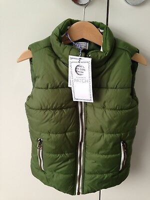 Pumpkin Patch Green Boy Vest: Sz 4. BRAND NEW
