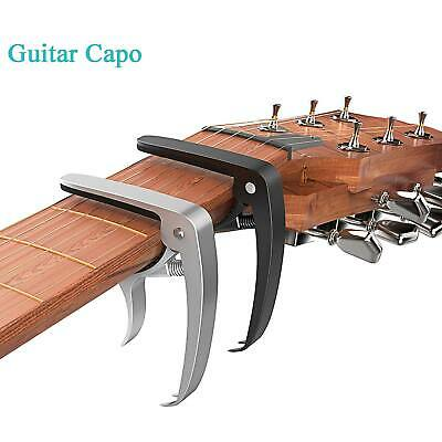 Tiger Guitar Capo Clamp Trigger Capo for Acoustic & Electric & Classic Aluminium