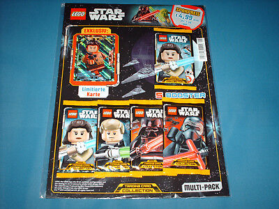 Lego® Star Wars™ Serie 1 Trading Card Game Multipack + LE8 Hitziger Poe Dameron