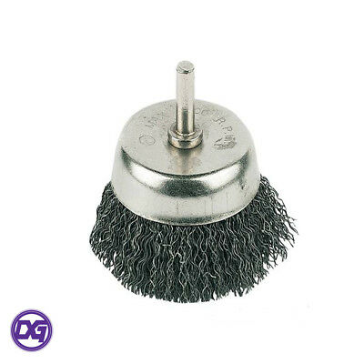 Silverline PB04 Rotary Steel Wire Cup Brush 75mm